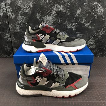 White Mountaineering X Adidas Nite Jogger Grey Multi Running Shoes - Best Online Sale