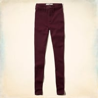 Hollister Blake Natural Waist Ponte Jeggings