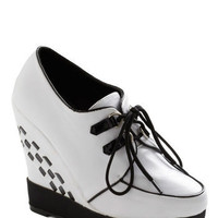 Bettie Page Strut Your Engines Wedge | Mod Retro Vintage Wedges | ModCloth.com
