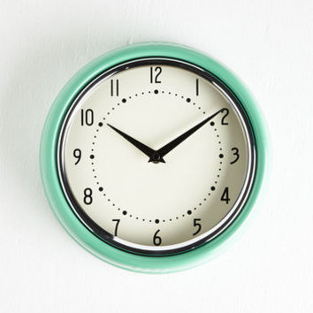 50s Analog Your Hours Clock by ModCloth