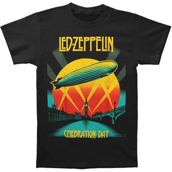 Led Zeppelin Men's  Celebration Day Mens T T-shirt Black
