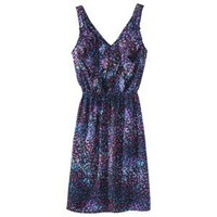 Mossimo® Womens Short Ruffle Galaxy Dress- Assorted Prints