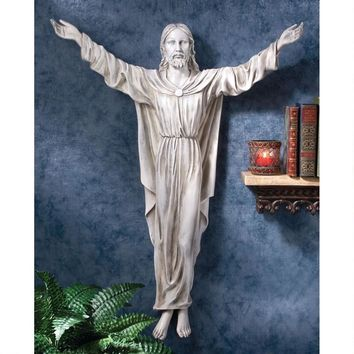 The Benediction of Jesus Wall Sculpture
