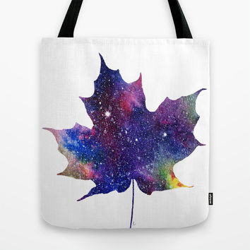 Hello Autumn Tote Bag by Miss L In Art