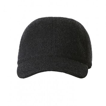Structured Wool Cap