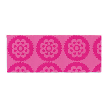 "Nicole Ketchum ""Moroccan Hot Pink"" Bed Runner"