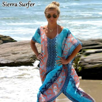 Saida De Praia Pareo Beach Cover Up Swimwear Women Kaftan Tunics For Chiffon Dress Acrylic Cotton Tunika Plaj Telo