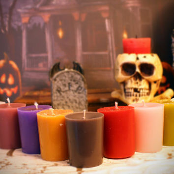 Halloween Scented Votive Candles