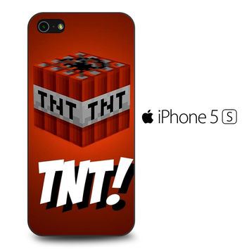 Tnt Minecraft iPhone 5[S] Case