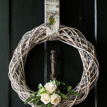 "Southern Living 23"" Twig Wreath 