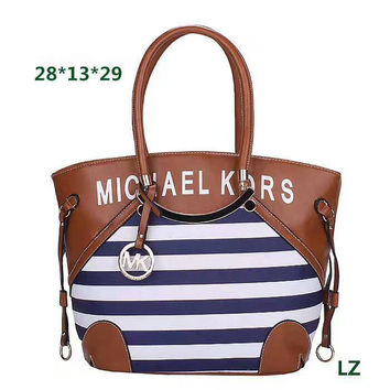 MK stripe Women Shopping Leather Handbag Tote Satchel Shoulder Bag H-LLBPFSH