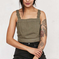 BDG Jessy Cross-Back Cropped Top - Urban Outfitters