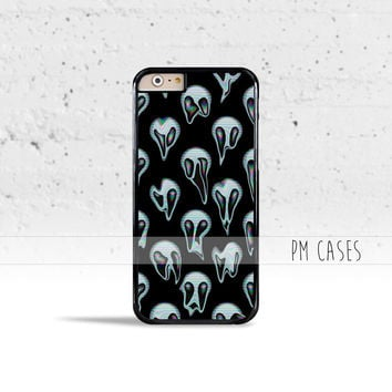 Melting Alien Emoji Case Cover for Apple iPhone 4 4s 5 5s 5c 6 6s SE Plus & iPod Touch