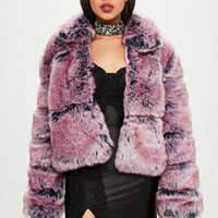 Missguided - Carli Bybel x Missguided Pink Puffer Jacket
