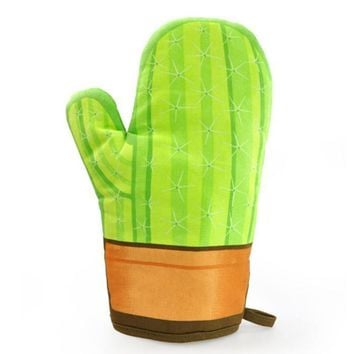Mustard M13004 Cool Cactus Shaped Oven Glove | eBay