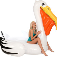 Gigantic Pelican Pool Float