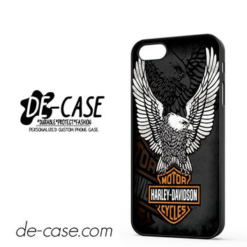 Harley Davidson Motorcycle Eagle Logo DEAL-5048 Apple Phonecase Cover For Iphone 5 / Iphone 5S