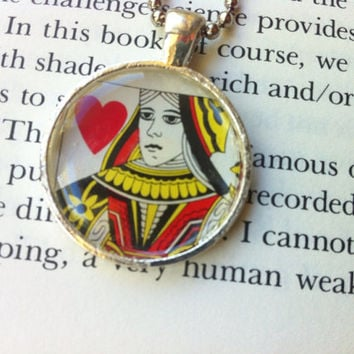 Queen of Hearts Pendant Necklace