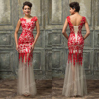 Women Formal Lace Long Evening Party Cocktail Bridesmaid Prom Gown Dress Wedding