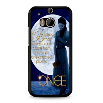 Once Upon A Time Belle Full Moon HTC M8 Case