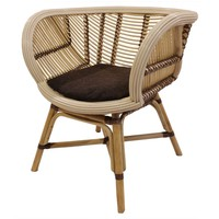 Cora Rattan Chair, Natural