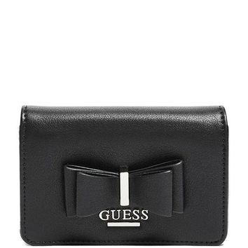 Guess Factory Women's Delilah Bow Bifold Wallet