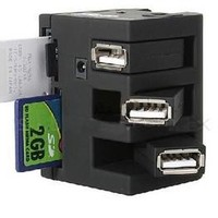 INFMETRY:: All In One Card Reader With USB HUB - Electronics