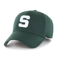 Michigan State Spartans All Season Velcro Adjustable Hat