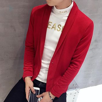 Zeeshant New Arrival Thick Sweater Men Brand Clothing Men Cardigans Male Casual Fashion Button Sweaters in Men's Cardigans XXXL