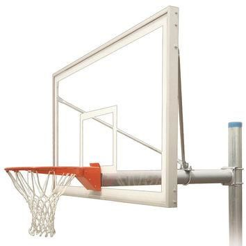 First Team Renegade Supreme In Ground Outdoor Fixed Height Basketball Hoop 72 inch Acr