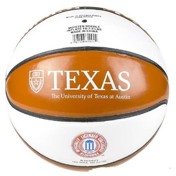 "9"" REGULATION TEXAS GLOSSY BASKETBALL"