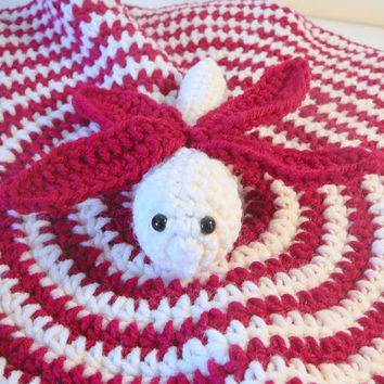 Dragonfly Lovey PDF Crochet Pattern - INSTANT DOWNLOAD