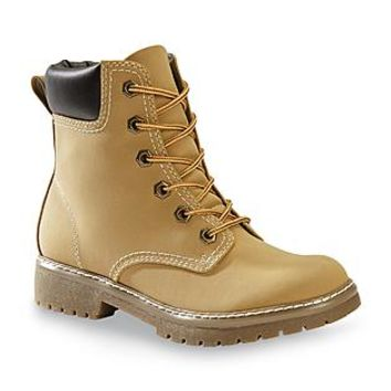 Bongo Women's Everly 6'' Tan Lace-Up Work Boot