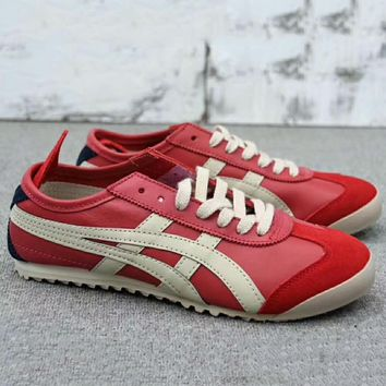 ASICS GEL LYTE Onitsuka Tiger Women Men Running Sport Casual Shoes Sneakers Red G-A0-HXYDXPF