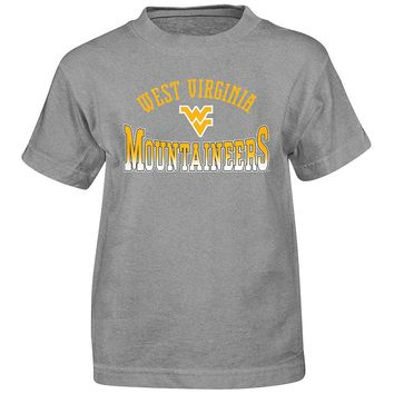 West Virginia Mountaineers Cotton Tee - Boys 4-7 (Wvu Char)