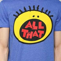 All That Logo Tee- Blue