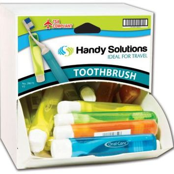 Handy Solutions Travel Toothbrush Dispensit Case(Pack Of 216)