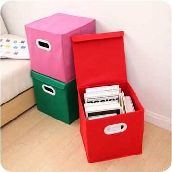 DCCKIX3 Home Decor Bedroom Books Clothings Paper Ikea Storage Box [6395669380]