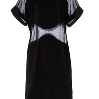 Maison Rabih Kayrouz Sheer Panel Dress - L'eclaireur - Farfetch.com
