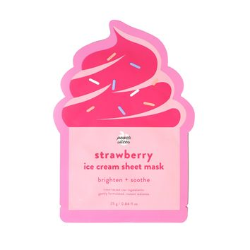 Strawberry Ice Cream Sheet Mask