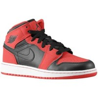 Jordan AJ1 Mid - Boys' Grade School at Eastbay