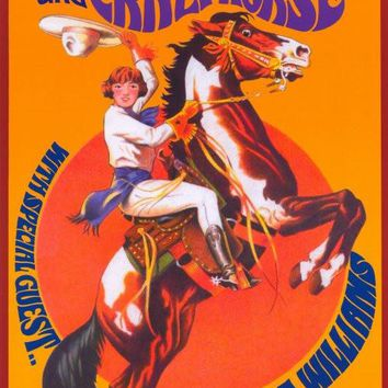 Neil Young and Crazy Horse 11x17 Music Poster