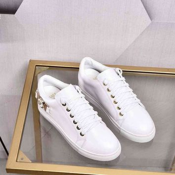 Versace White Fashion Casual Women Men Sneakers Sport Shoes