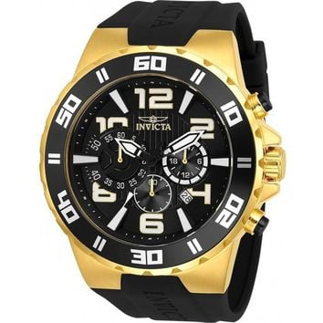 Invicta Men's 24671 Pro Diver Quartz Multifunction Black Dial Watch