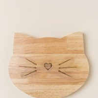 Kitty cutting board