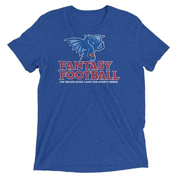 Fantasy Football Roleplaying The Game for Sports Nerds Tri-Blend T-Shirt