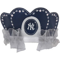 MLB New York Yankees Princess Tiara, Navy