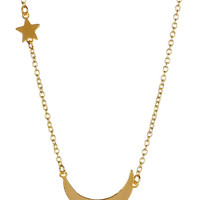 On HauteLook: LEILA | Moon & Star Charm Necklace - Gift With Purchase