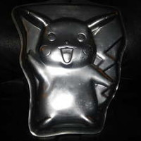 Wilton Nintendo Pokemon Pikachu Aluminum 1998 Birthday Cake Pan 2105-37 Retired