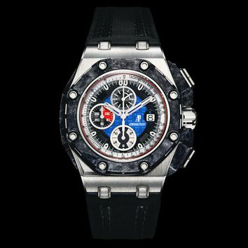 Audemars Piguet Royal Oak OffShore Automatic Chronograph Platinum Men\'s Watch